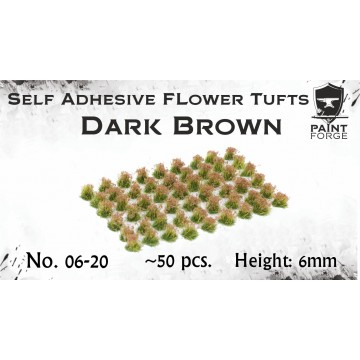 Dark Brown Flowers