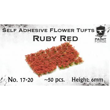 Ruby Red Flowers