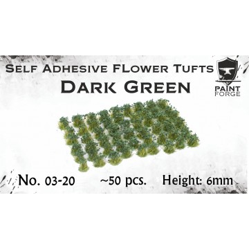 Dark Green Flowers