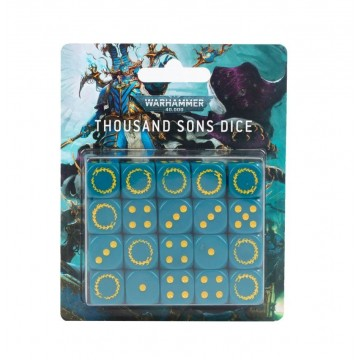 Thousand Sons Dice Set