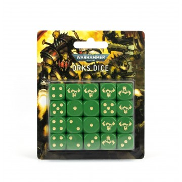 Dice set: Orks Dice