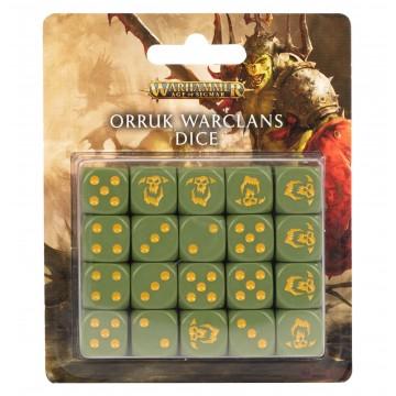 Orruk Warclans Dice 65-42