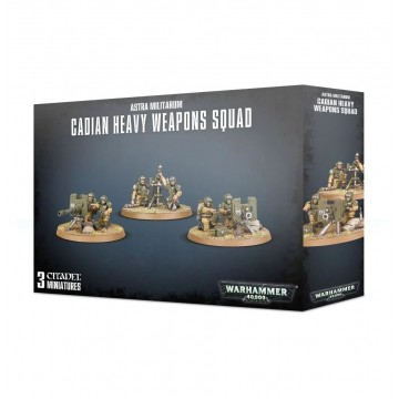 Cadian Heavy Weapon Squad...