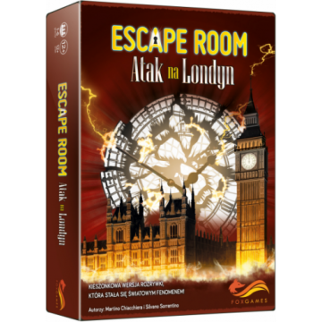 Escape room:Atak na Londyn